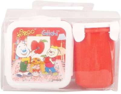 Pratap Hyper Locked Container Set Junior Red 1 Containers Lunch Box