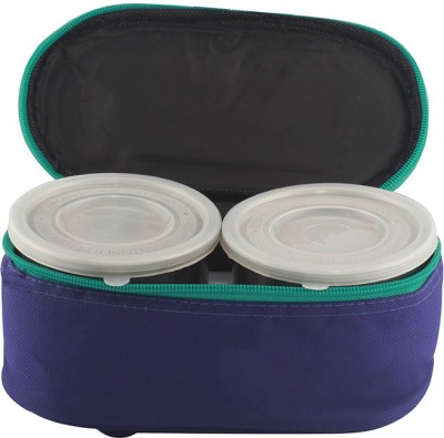 Gcollection GCL2DBlue 3 Containers Lunch Box