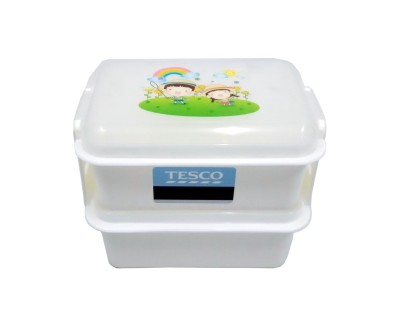 Tesco 52752 2 Containers Lunch Box