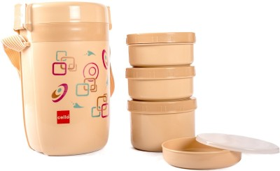 Cello 134626 4 Containers Lunch Box