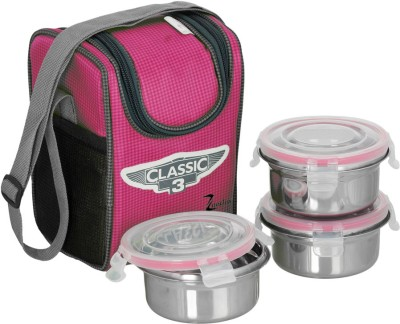 zanelux classic 3 3 Containers Lunch Box