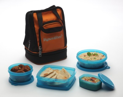 Signoraware 536 Carry 4 Containers Lunch Box