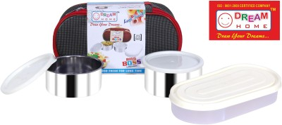 Dream Home Big Boss Lunch Box 3 Containers Lunch Box