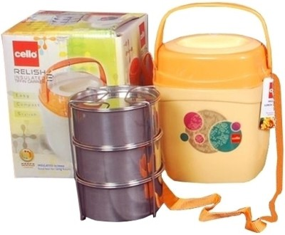 Cello World 8901372493142 3 Containers Lunch Box