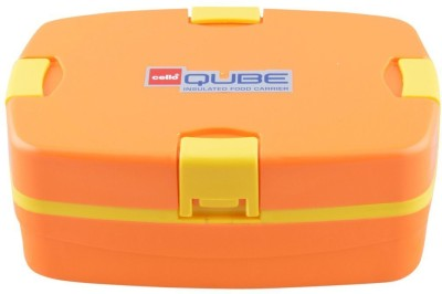 Cello World Qube Rectangle 1 Containers Lunch Box