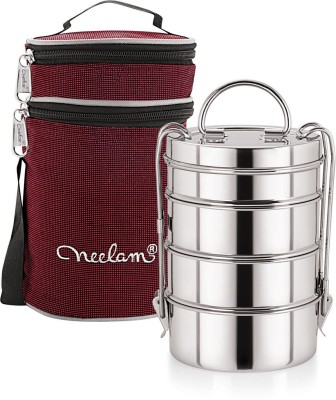 Neelam NA-063 4 Containers Lunch Box