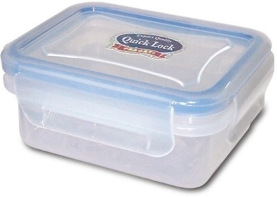 eGizmos Quick lock Rectangle Shape 1 Containers Lunch Box