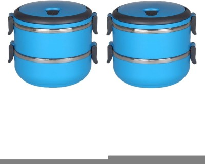 Grind Sapphire Blue 2 Containers Lunch Box