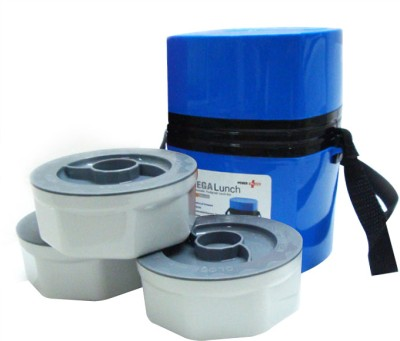 Power Plus MEEH35BL1213 3 Containers Lunch Box