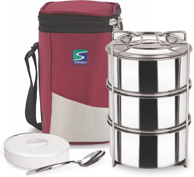 Stenso Race3 4 Containers Lunch Box