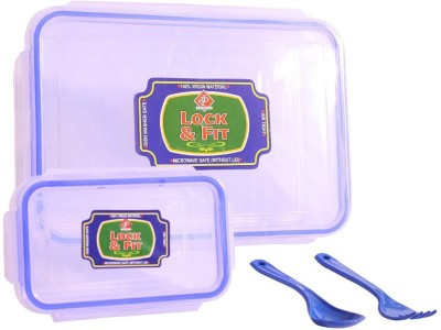 Ski lun1502 2 Containers Lunch Box