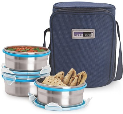 Steel Lock TIFFIN 1331 3 Containers Lunch Box