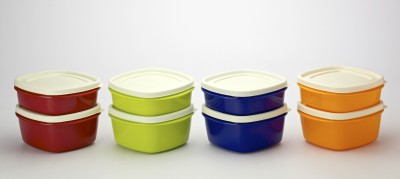Cutting Edge Snap Tight Set 8 Containers Lunch Box