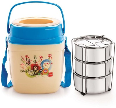 Cello World Relish3 3 Containers Lunch Box