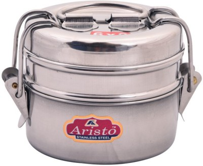 Aristo Tiffin 6X2 2 Containers Lunch Box(370 ml)