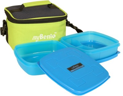 myBento 1B01C012 2 Containers Lunch Box