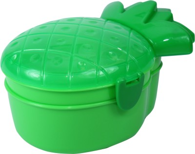 FabSeasons LBX10green 2 Containers Lunch Box