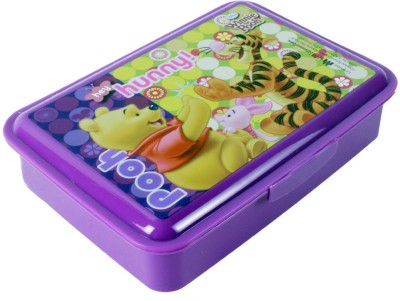 HM International Winnie The Pooh Hey Hunny Medium Lunch Box 1 Containers Lunch Box