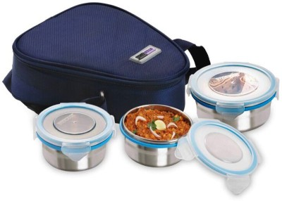 Steel Lock TIFFIN 1261 3 Containers Lunch Box