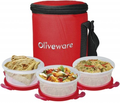 Oliveware LB34 3 Containers Lunch Box
