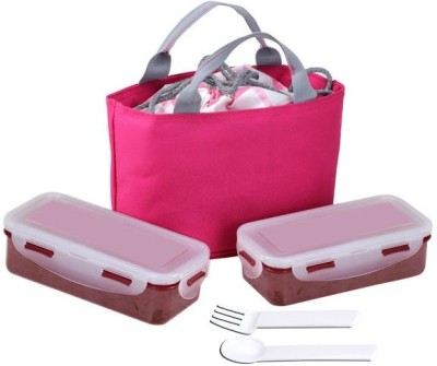 Icable Tiffin Box 2 Containers Lunch Box