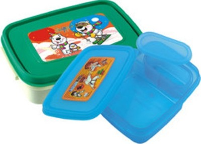 Ski Interval 2 Containers Lunch Box