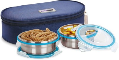 Steel Lock TIFFIN 1351 2 Containers Lunch Box