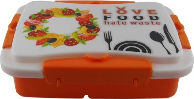 Infinxt Love Food Kids ORNG 1 Containers Lunch Box