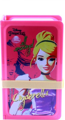 HM International Cinderella Lunch Box 1 Containers Lunch Box