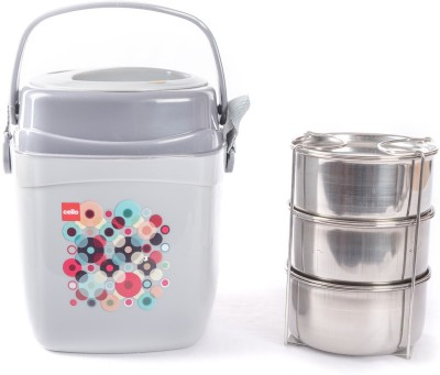 Cello 134609 3 Containers Lunch Box