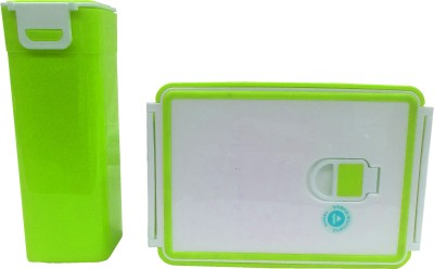 HOMIO OM-GREEN 2 Containers Lunch Box