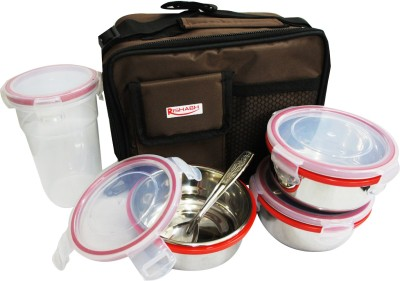 Rishabh Sip N Eat 4 Containers Lunch Box