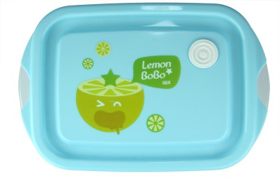 FabSeasons LBX04blue 2 Containers Lunch Box