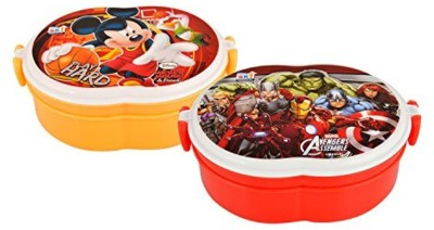 SKI Kids Cartoon tiffin 1 Containers Lunch Box