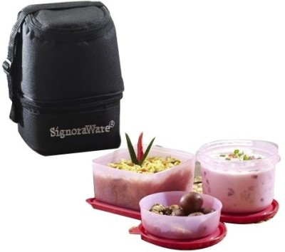 Signoraware 525 3 Containers Lunch Box