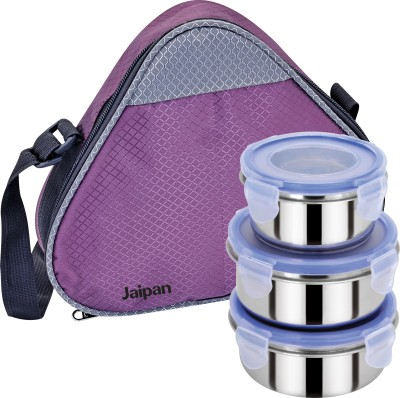 Jaipan JP-1233 3 Containers Lunch Box