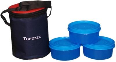 Topware Topware Round 3 3 Containers Lunch Box