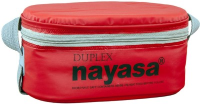 Nayasa xclusive 5 Duplex 3 Containers Lunch Box(600 ml)