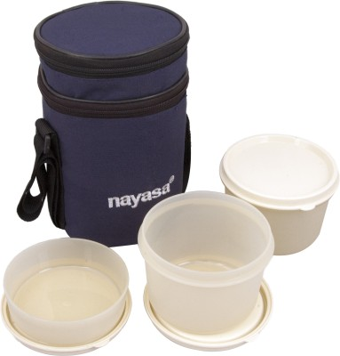 Nayasa Ny-lb-01bl 3 Containers Lunch Box