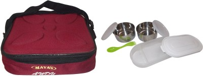 Carrolite Maya Andy Deluxe 2+1 With 2 Containers And 1 Chapati Tray 3 Containers Lunch Box