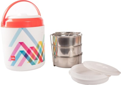Cello 134635 3 Containers Lunch Box