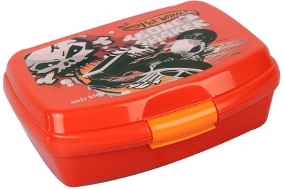 Hot Wheels Red 2 Containers Lunch Box