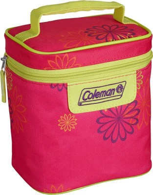 Coleman Pink Daisy Tiffin 3 Containers Lunch Box