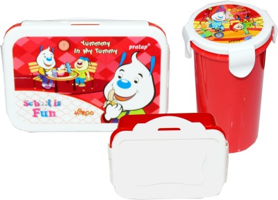 scrazy yummy in my Tummy 3 Containers Lunch Box