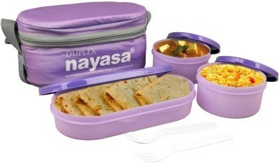 nayasa Ny-Duplex 3 Containers 3 Containers Lunch Box