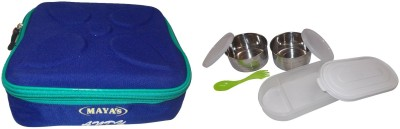 Carrolite Maya Andy Deluxe 2+1 2 Containers with 1 chapati tray 3 Containers Lunch Box