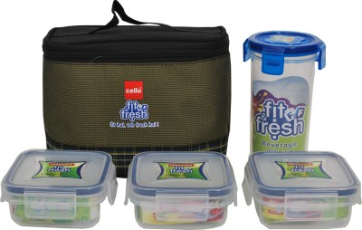 Cello World 8901372150435 4 Containers Lunch Box
