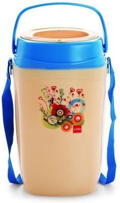 Cello World Relish4Blue 4 Containers Lunch Box