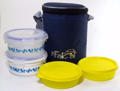 The Fat Cat lb 007 4 Containers Lunch Box