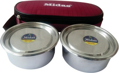Midas 1921mlbm 2 Containers Lunch Box